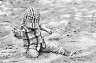 Sand in Kinderhand...