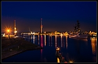Wilhelmshaven by night