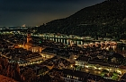 """Heidelberg on an October evening"""